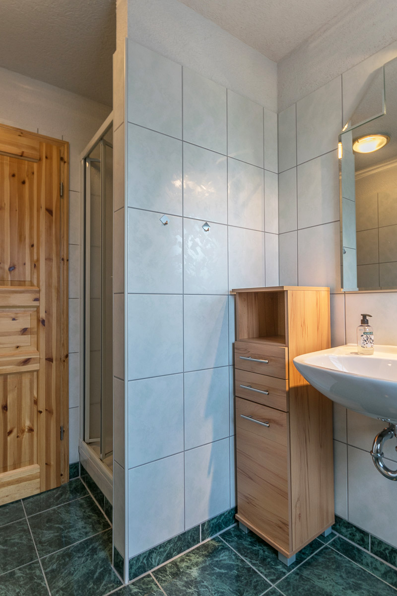 Ferienwohnung Adamsberg - Badezimmer3 mit Dusche