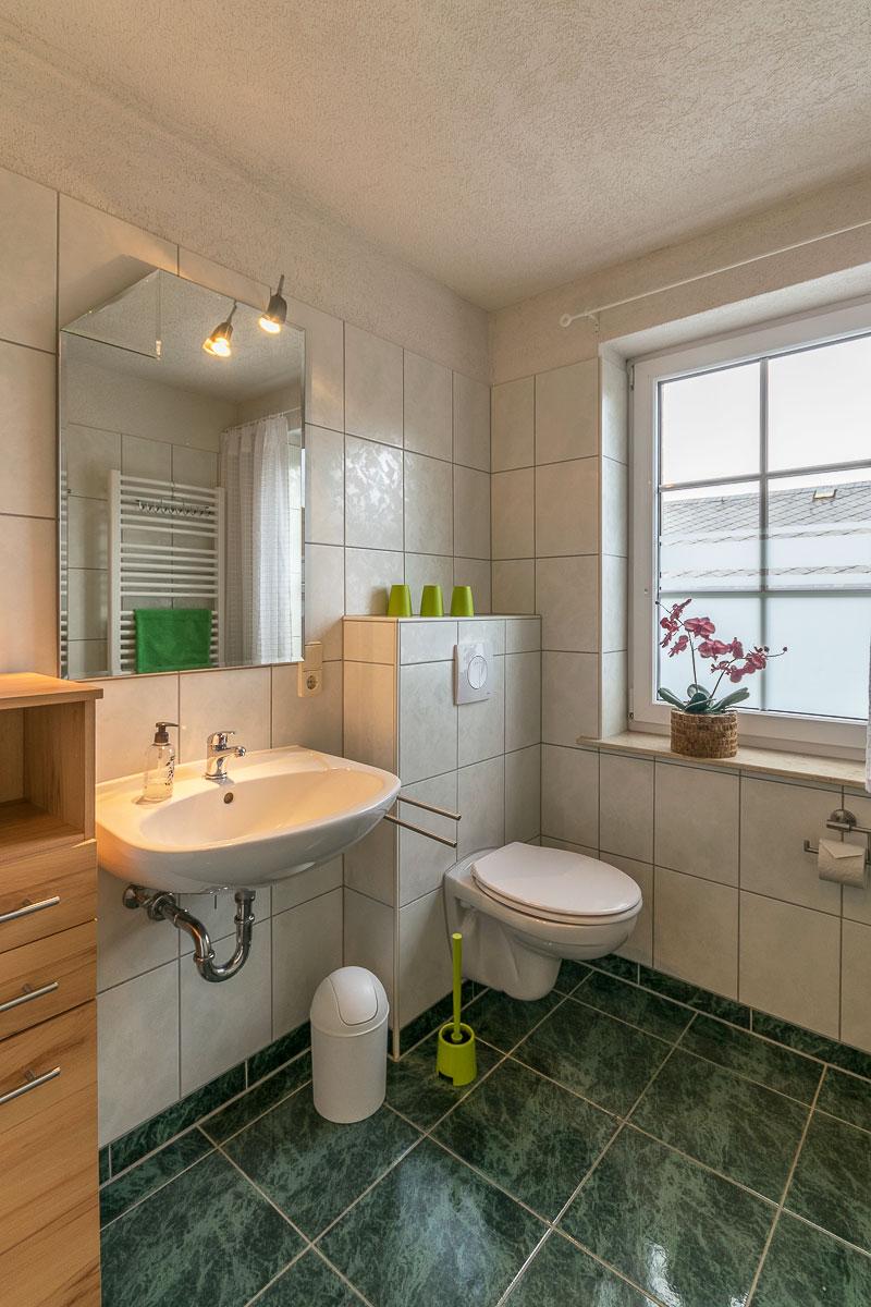 Ferienwohnung Adamsberg - Badezimmer3 mit WC