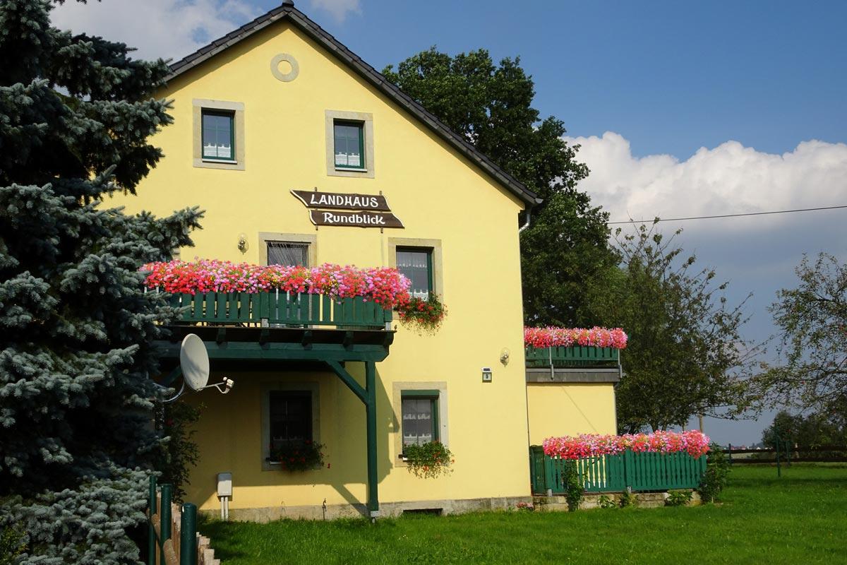 Landhaus Rundblick - Außenansicht